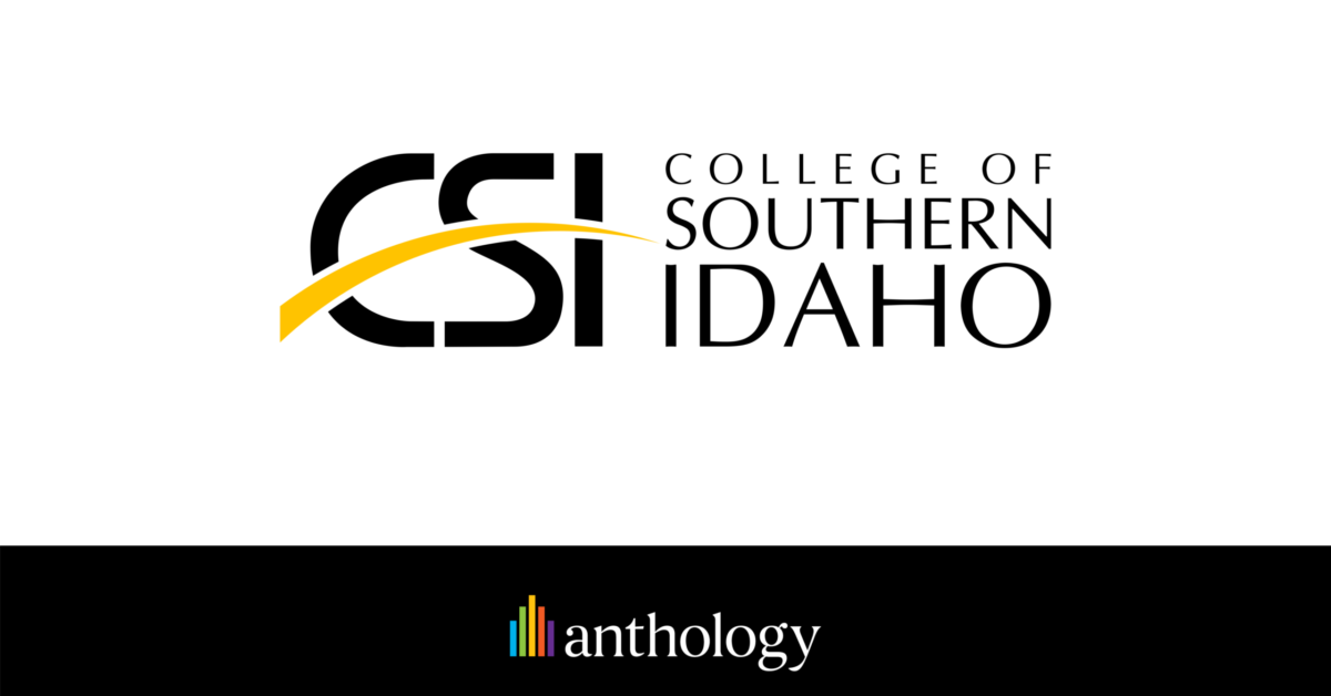 College of Southern Idaho Selects Anthology's Full Solutions Suite to Deliver Connected, Student-First Experience Across Campus