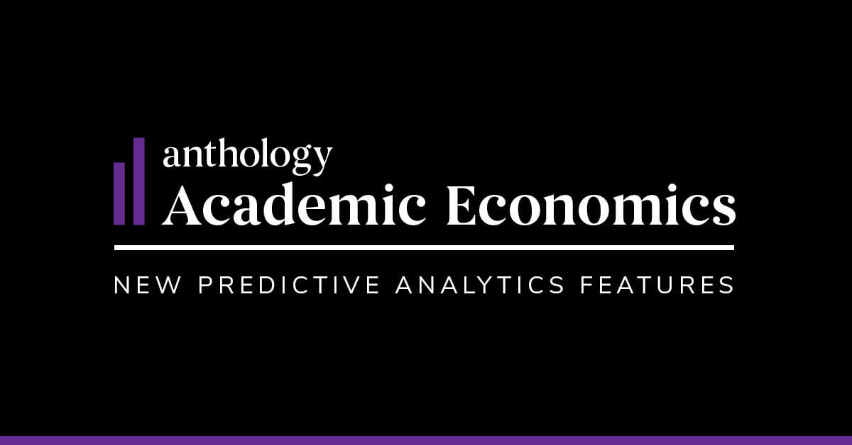 Anthology's Financial Review Solution for Higher Education Adds Predictive Analytics Capabilities