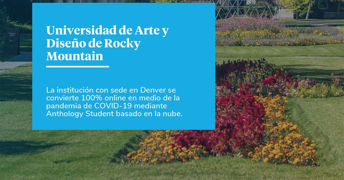 La Rápida Respuesta de la Universidad de Arte y Diseño de Rocky Mountain en Medio de la Pandemia de COVID-19